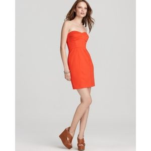 NET Rebecca Taylor Take Me Strapless Dress